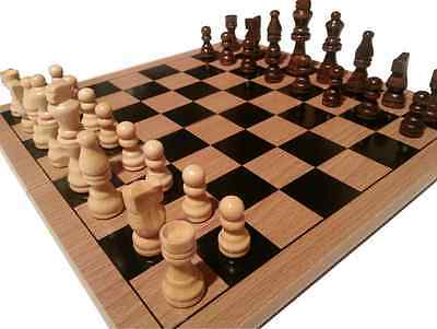 Traditional Chess Board + Pieces Or Board & Pieces Sold Separately Choose Set • 13.99£