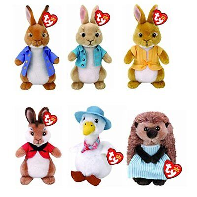 Ty Toys - Peter Rabbit Characters - Genuine Ty Product With Tags • 9.99£