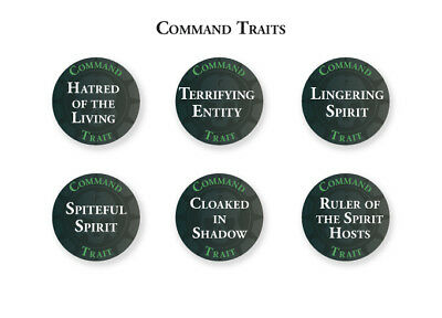 Nighthaunts Abilities, Traits & Artefact Tokens Warhammer Age Of Sigmar Undead • 30.50£