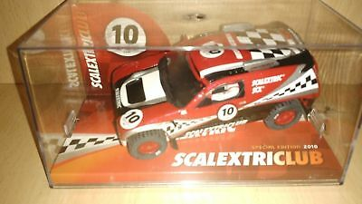 Scalextric  VOLKSWAGEN TUAREG SCALEXTRIC CLUB 2010 LIMITED EDITION • 50£