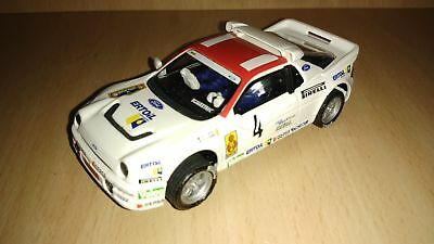 Scalextric Ford Rs 200 Carlos Sainz Collection Cars Altaya Rallys Collection • 25£
