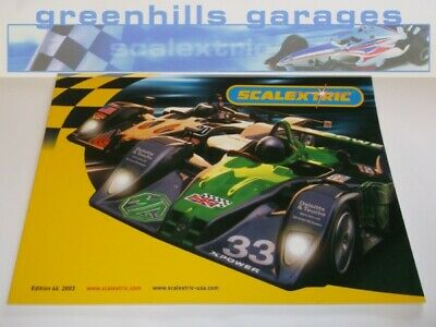 Greenhills Scalextric Electronic Model Racing Catalogue 44th Edition 2003 - C... • 7.99£