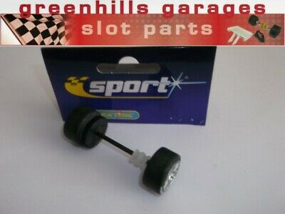 Greenhills Scalextric Accessory Pack Rear Axle & Wheels For Aston Martin DBR9... • 5.49£