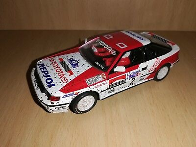 Scalextric Toyota Celica Mud Effect Rallys Miticos Collection • 40£