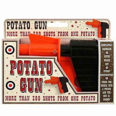 Potato Spud Gun Traditional Toy Great Stockingfiller • 1.99£