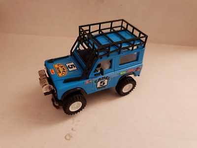 Scalextric Land Rover Sts Light Blue • 105£