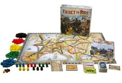 Ticket To Ride Europe Replacement Parts Pieces Stations Trains Cards Tokens New • 6.50£