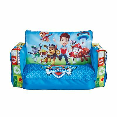 Paw Patrol Flip Out Sofa Kids Bedroom 100% Official New Free P+p • 29.90£