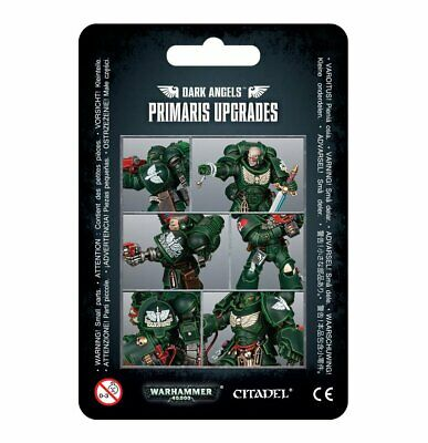 Warhammer 40,000 -- Dark Angels - Primaris Upgrades -- GW-44-75 • 9.25£