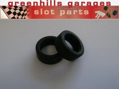 Greenhills Scalextric Ford Taurus Rear Tyre Pair - Treaded - Used - P4026 • 3.49£