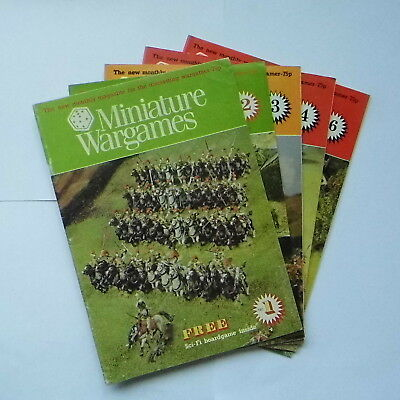 MINIATURE WARGAMES MAGAZINES NUMBER 1-87 - 'For Help Hedgehogs' • 9£