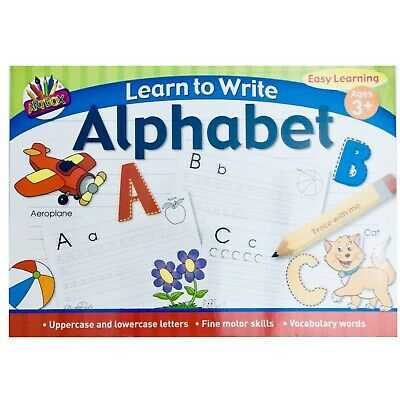 A4 Learn To Write Alphabet Easy Learning Book For Kids • 3.29£