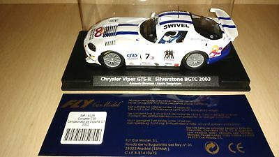 Scalextric Fly  Chrysler Viper GTS-r Silverstone BGCT 2003 • 50£