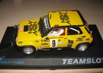 Scalextric  Team Slot Renault 5 Turbo New Man • 80£