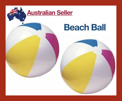 61cm-Giant Inflatable Beach Balls Pool Water Toys Transparent Swimming Ball Swim • 9.06£