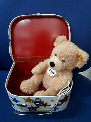 STEIFF Fynn Teddy Bear In Suitcase • 30£