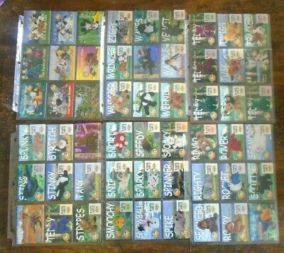 Large Lot TY Beanie Babies Trade Card Collection • 74.24£