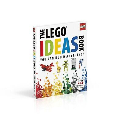 The LEGO® Ideas Book: You Can Build Anything! By Daniel Lipkowitz • 7.99£