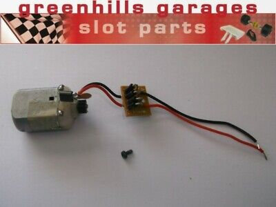 Greenhills Scalextric Mabuchi Engine & Wiring With Black Pinion For Nissan 35... • 6.99£