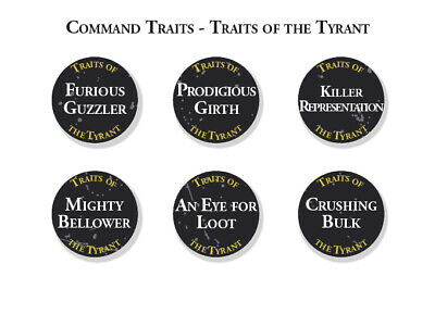 Ogor Mawtribes Abilities & Artefact Tokens Warhammer Age Sigmar Gutbusters • 49£