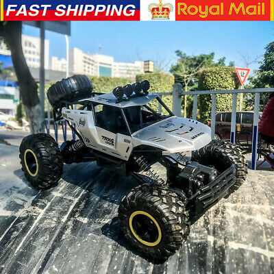 Large Remote Control RC Cars 4WD Off-Road Monster Truck Kids Toy Gift Brand New • 59.79£