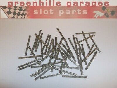 Greenhills Standard Tinned Copper Braids X 50 For Scalextric Ninco SCX - NEW ... • 9.31£