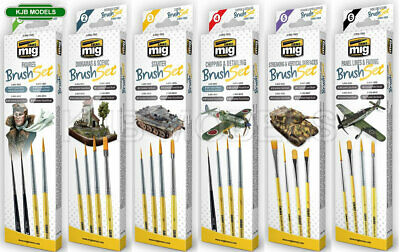 Ammo By Mig Sniperbrush & Paint Brush Sets - Choice Of 7 • 9.95£