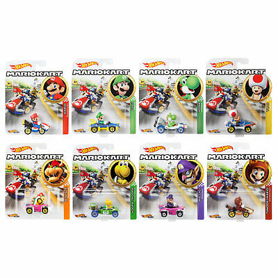 Hot Wheels Mario Kart 1:64 Scale Die-Cast Cars *CHOOSE YOUR FAVOURITE* • 6.99£