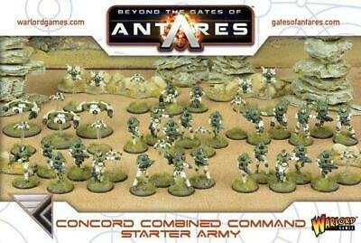 Gates Of Antares - Concord Combined Command Starter Army - Bnib • 24.45£