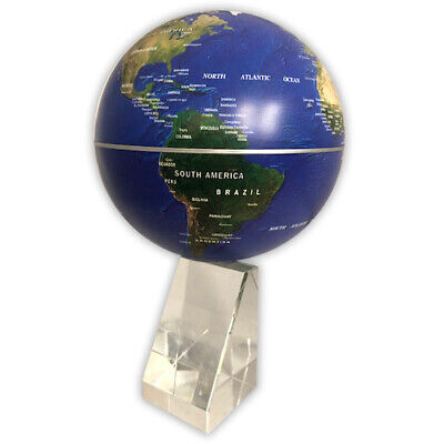 TerraMagic Rotating Geographic Magnetic Floating Earth Globe Spinning • 9.99£
