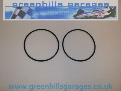 Greenhills Scalextric Drive Belts For 4x4 Model Vehicles - Pack Of 2 New G4 • 2.50£