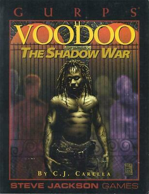 GURPS VOODOO The Shadow War (RPG) 3rd Edition Sourcebook Roleplaying Game • 29.99£