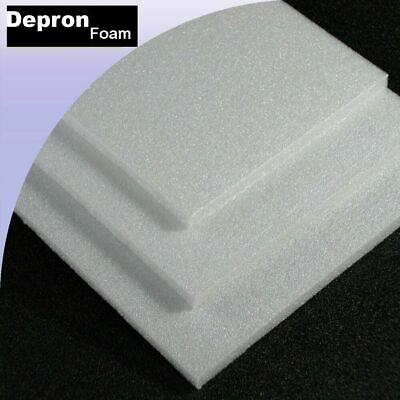 10mm Depron White 1 Sheet 500 X 700 • 12.08£