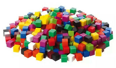 Counting Centimetre Cubes 1cm Coloured Maths Volume Learning Resources 30-1000 • 4.50£