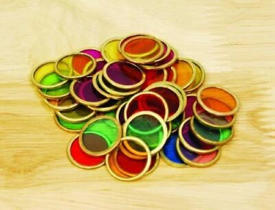 Metal Counting Chips - Pk100 Great Resource For Maths And Magnetic Fun • 8.75£