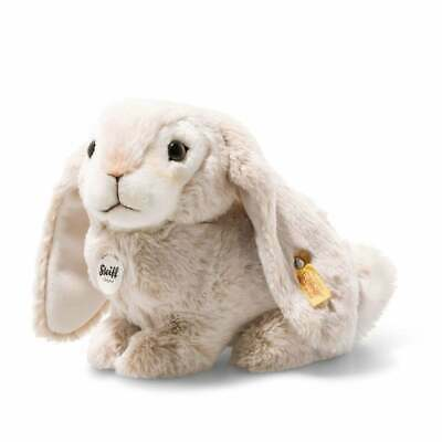 Steiff Lauscher Rabbit Beige Plush Bunny Soft Toy New With Tags 080876 • 44£