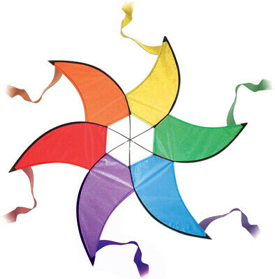 Large Rainbow Spinner - Garden Decoration Or Kite Tail • 12.79£