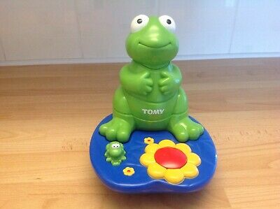 TOMY Vibrating Frog Stack Game Songs And Movements • 7.50£