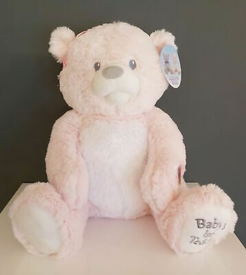 Pink Teddy Bear - Singing Baby's 1st Teddy - You Are My Sunshine Soft Cute  • 29.50£