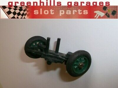 Greenhills Airfix Front Axle Unit With Spoke Wheels & Tyres - Used - P4438 • 6.99£