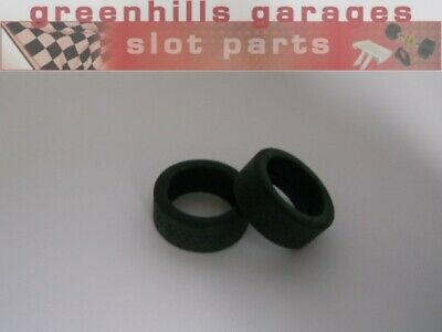 Greenhills Scalextric Mitsubishi Lancer EVO7 Front & Rear Tyre Pair - Used - ... • 3.49£