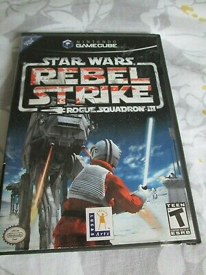 Game Cube ,star Wars Rebel Strike Complete,in Good Condition.pre Owned • 19.99£