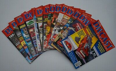 Diecast Collector Magazine 1997 - 1998 Issues 1 - 14 • 19.99£