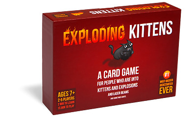 Exploding Kittens Original Party Card Game UK • 8.99£