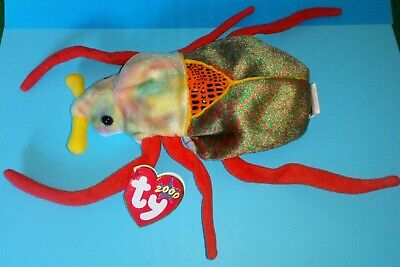 Ty Beanie Babies  SCURRY  The Beetle~Long Retired~With Mint Tags.  • 7.49£
