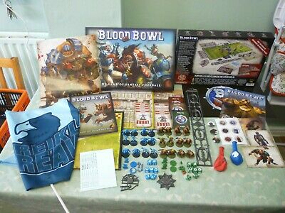 Blood Bowl Fantasy Football PLUS Exclusive Limited Edition Items • 80£