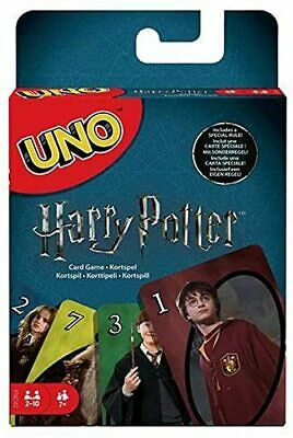 Mattel Games FNC42 Uno Harry Potter Family Card Game - Multi-Colour • 5.99£