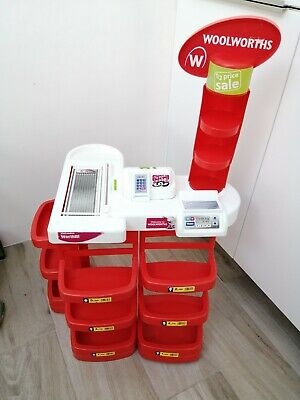 Very Rare Woolworths Kids' Play Shop Checkout Counter • 20£