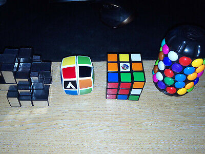 Original Rubiks Cube + 3 Other Puzzles • 17.99£