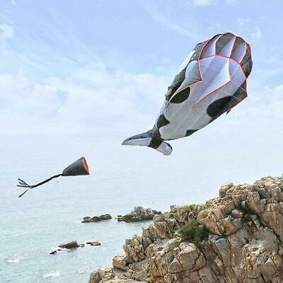 3D Kite Frameless Soft Parafoil Giant Whale Flying Kite Outdoor Sports Toy • 11.75£